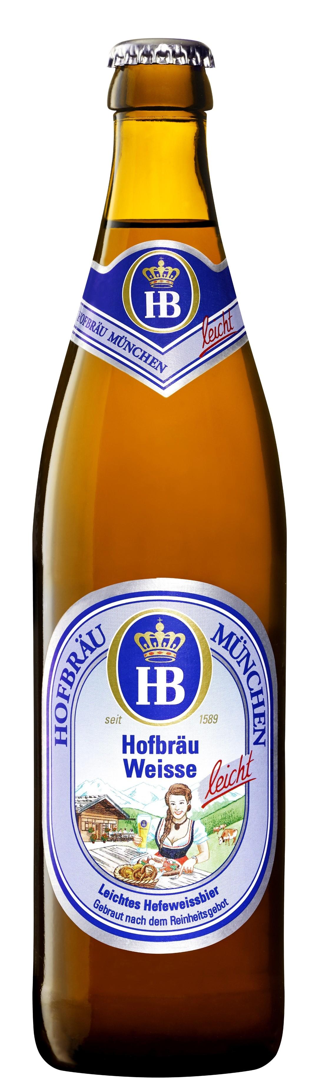 Hofbräu München - Hofbräu Weisse leicht