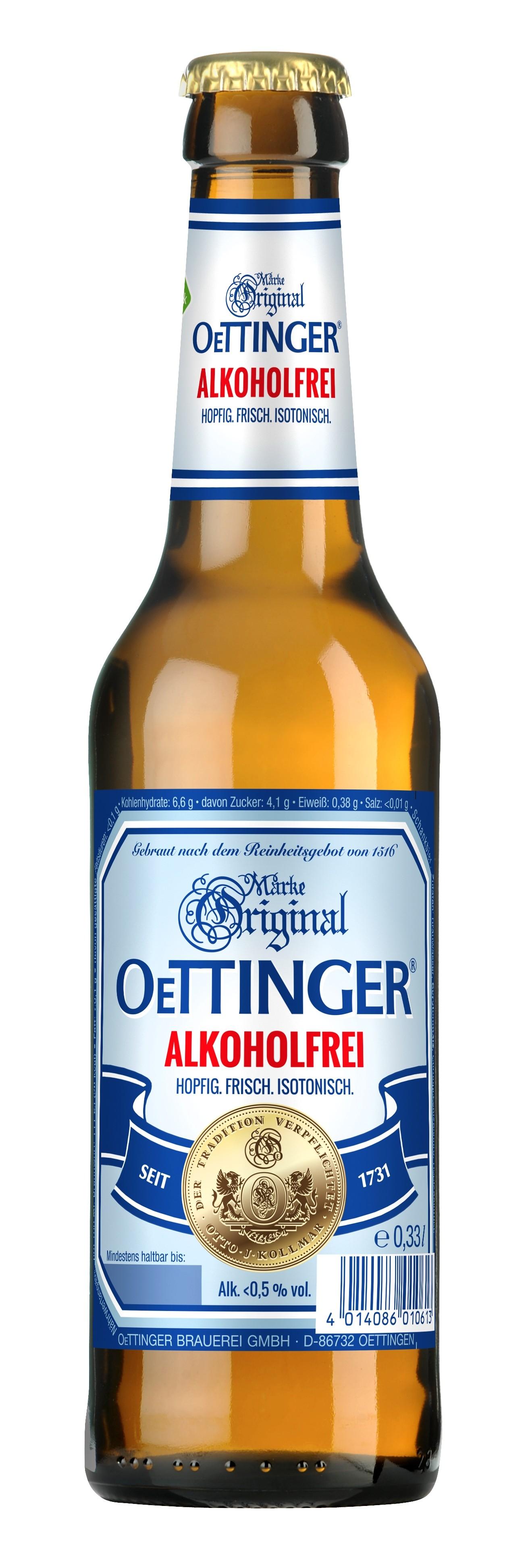OETTINGER Alkoholfreies Schankbier