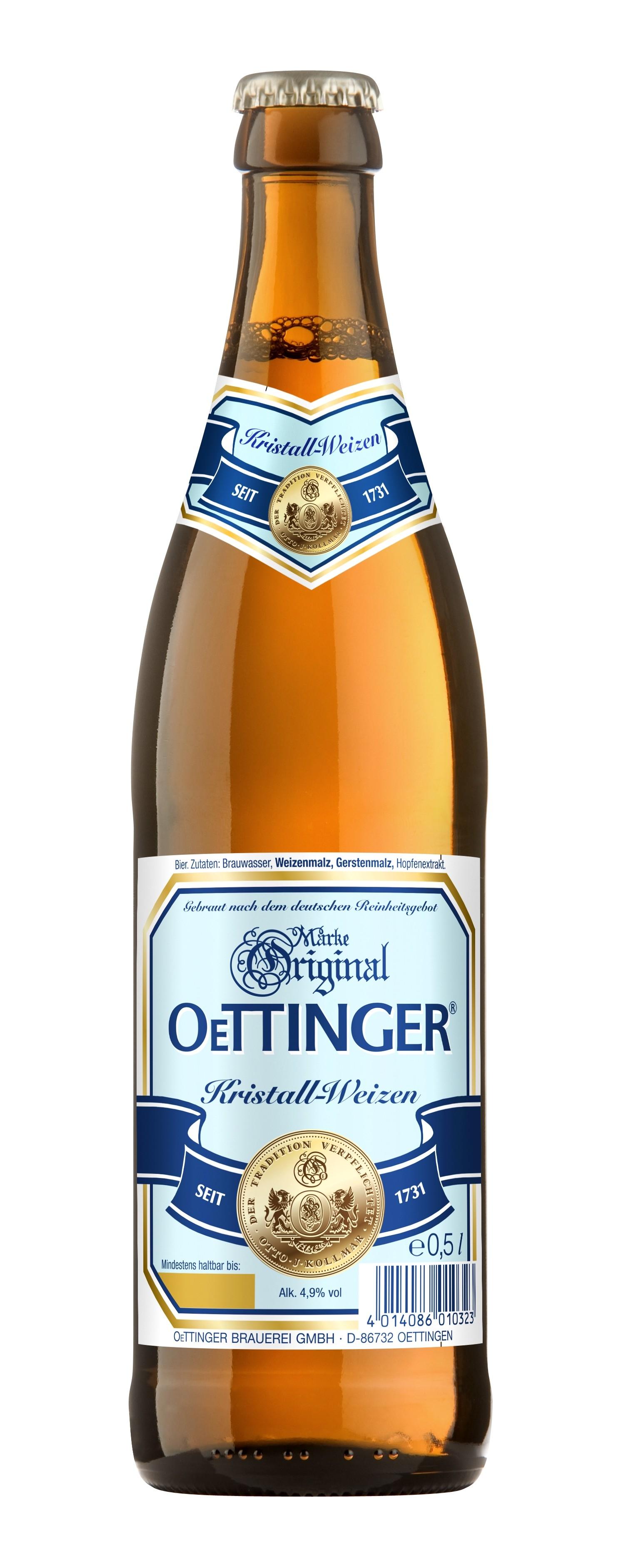 oettinger kristallweizen