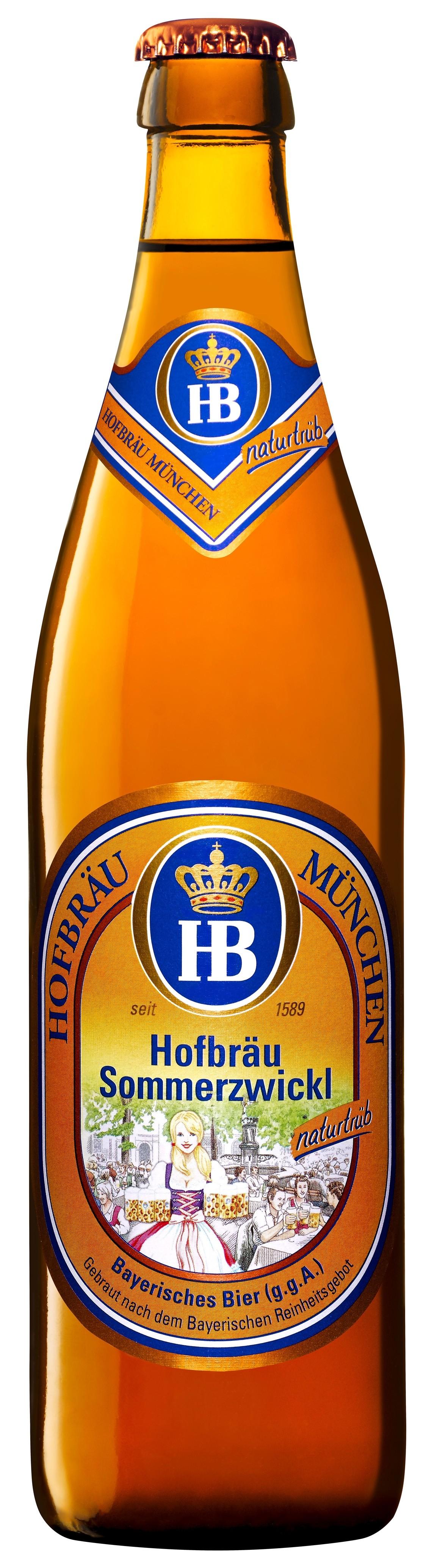 Hofbräu München - Hofbräu Sommerzwickl