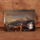 Berchtesgadener Blechpostkarte