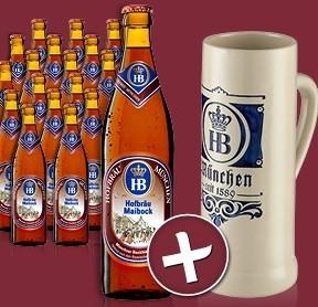 Hofbräu München - Maibock 18 Flaschen