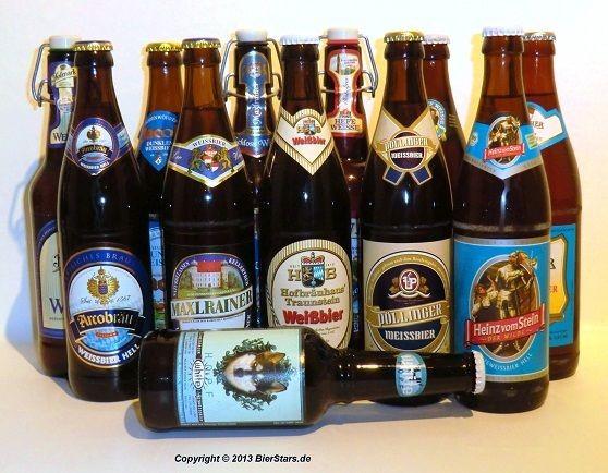 BierStars - Mix-Paket Weißbier 12 Flaschen