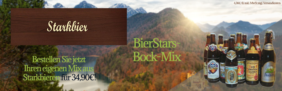 BierStars - Bock-Mix