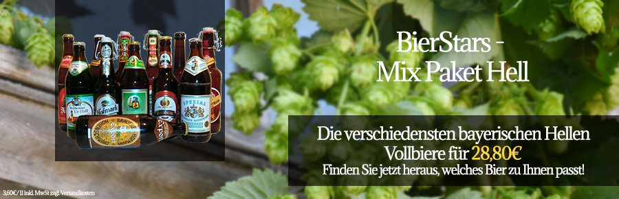 BierStars - Mix Paket Hell