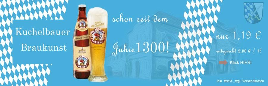 Brauerei Kuchlbauer im Bier Shop: Bierspezialitäten online bestellen