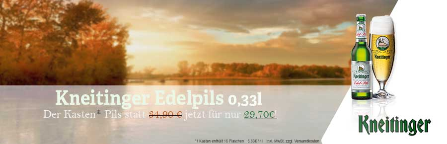 Kneitinger Edelpils 0,33l