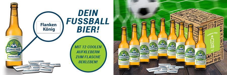 Fußball Bier -