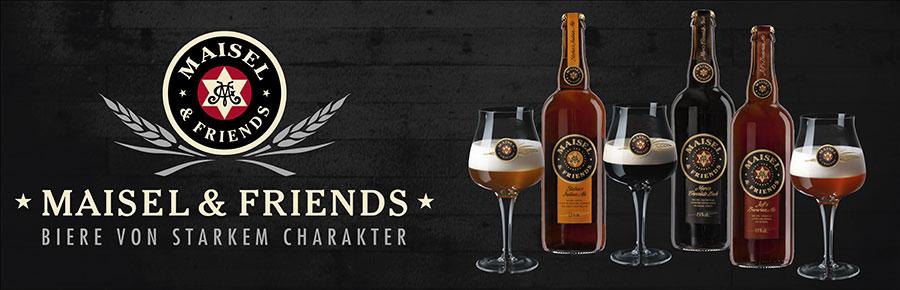 Maisel and Friends im Bier Shop: Bierspezialitäten online bestellen